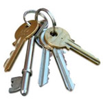 Conveyancing solicitors nightmare, house keys