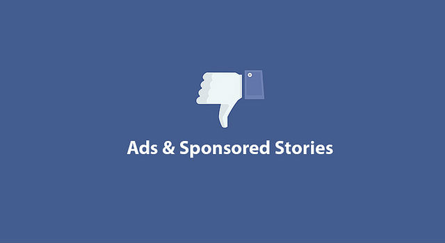 Facebook ads, annoying flashing ads on websites