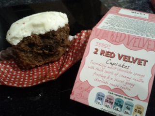 Red Velvet Cupcakes - or are they?
