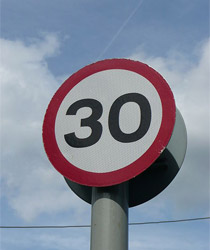 30 mph speed limit