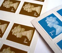Postage stamps, Sorry we missed you