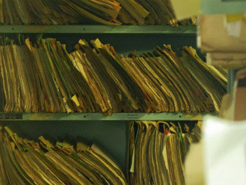 Organisations and institutions fail to keep personal records