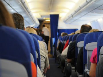 Inconsiderate passengers on flights with unruly children